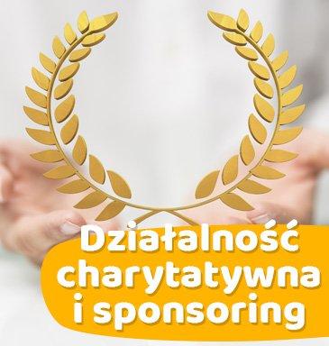 Działalność charytatywna i sponsoring
