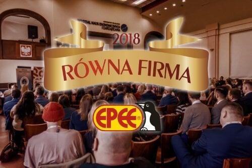 Epee Polska wyróżnione w plebiscycie Równa Firma 2018