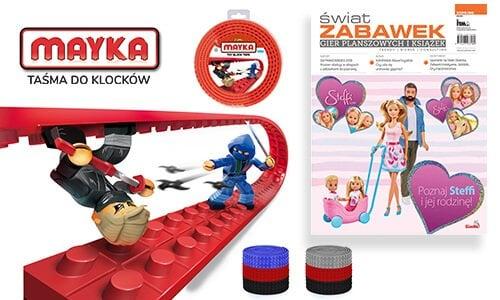 Mayka w czasopiśmie Świat Zabawek!
