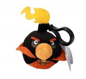 Angry Birds Space – Pluszowy brelok, Czarny Ptak