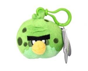 Angry Birds Space Pluszowy brelok – Fat Green