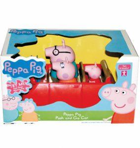 Świnka Peppa – Grający samochód z napędem