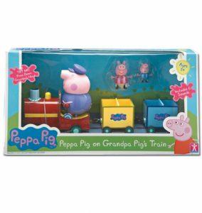 Świnka Peppa – Pociąg z figurkami i dźwiękiem