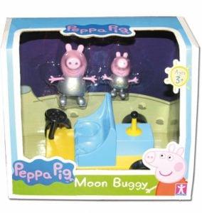 Świnka Peppa – Księżycowy pojazd z figurką