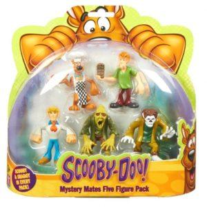 Scooby-Doo – Figurka 7 cm, 5-pack