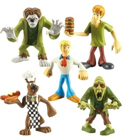 Scooby-Doo – Figurka 7 cm, 5-pack - csd05564_2_x