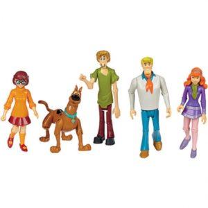 Scooby-Doo – Tajemnicza Spółka – Figurka 13 cm, 5-pack