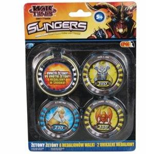 Slingers – Medaliony, 10 pack