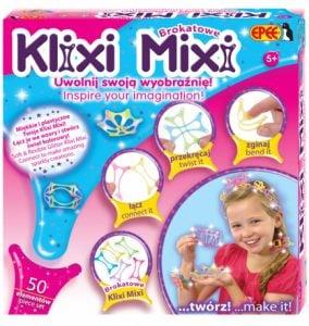 Klixi Mixi – Brokatowe Klocki, 50 elementów