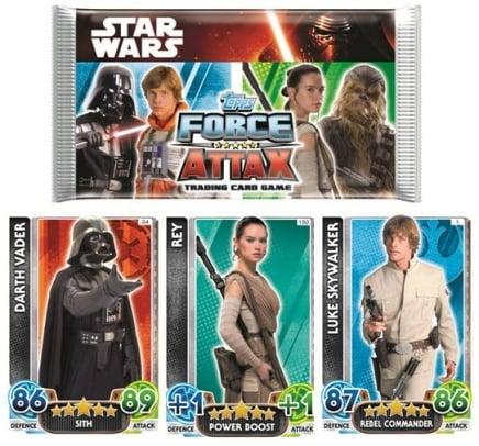 Star Wars Force Attax – Saszetka z kartami