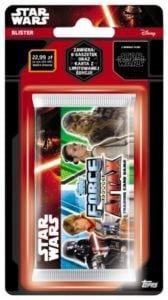 Star Wars Force Attax – Blister z saszetkami