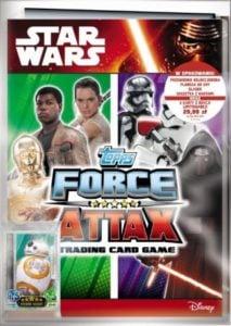 Star Wars Force Attax – Zestaw startowy