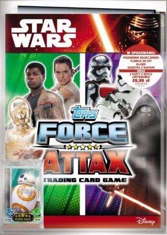 Star Wars Force Attax – Zestaw startowy - ep02410_1_x