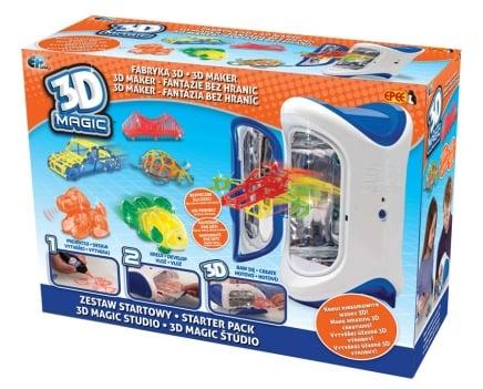 3D Magic – Fabryka 3D – Zestaw startowy z urządzeniem 3D - ep02615_1_x