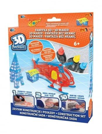 3D Magic – Fabryka 3D – Mega zestaw tematyczny - ep02617_1_x