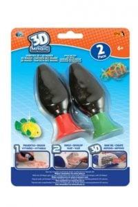 3D Magic – Fabryka 3D – Magiczne żele, 2-pack