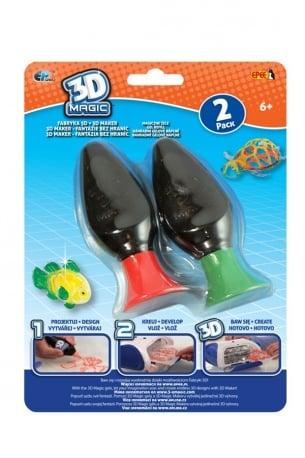 3D Magic – Fabryka 3D – Magiczne żele, 2-pack - ep02620_1_x