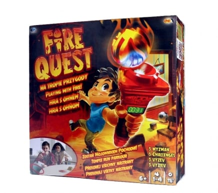 Fire Quest – Na tropie przygody – gra elektroniczna - ep02848_1_x