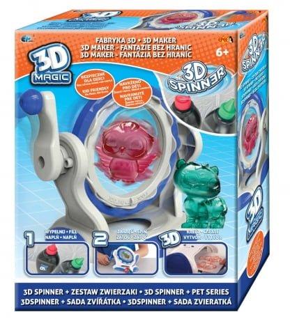 """3D Magic – Fabryka 3D Spinner """"Kreuj w 3D"""" - ep02855_1_x"""