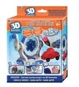 """3DMagic Fabryka 3D Spinner """"Kreuj w 3D"""" zestaw tematyczny"""
