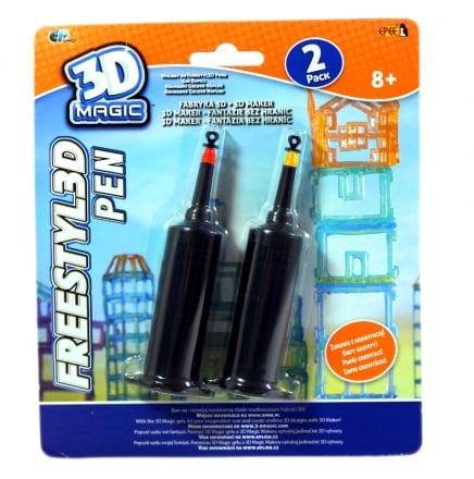 3DMagic Fabryka 3D – 3D Pen wkłady 3 ass. - ep02858_1_x