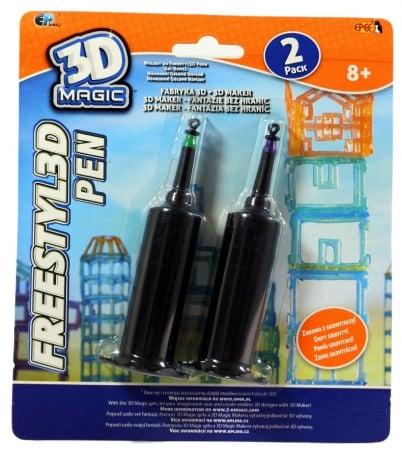 3DMagic Fabryka 3D – 3D Pen wkłady 3 ass. - ep02858_3_x