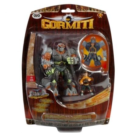 Gormiti Titanium – 12 cm figurka + dodatkowa figurka - gph01443_1_x