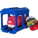 Stacyjkowo – Pociąg z garażem 5 ass. - jst38620_2_x - miniaturka