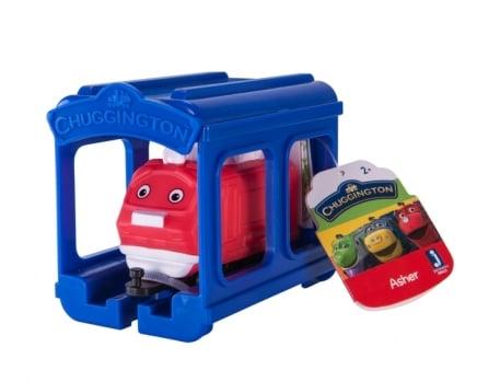 Stacyjkowo – Pociąg z garażem 5 ass. - jst38620_2_x