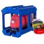 Stacyjkowo – Pociąg z garażem 5 ass. - jst38620_6_x - miniaturka
