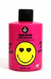 SMILEY – Żel pod prysznic i do kąpieli 300 ml różowy