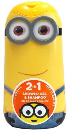 Minionki – 2w1 – Żel pod prysznic + szampon 400 ml - kav6285_1_x