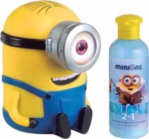 Minionki – Żel pod prysznic i szampon 200 ml + skarbonka