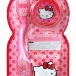 Hello Kitty – Zestaw szczoteczka do zębów z nakładką + pasta 28 ml - kgr81003_1_x - miniaturka