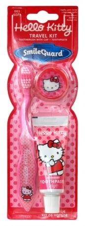 Hello Kitty – Zestaw szczoteczka do zębów z nakładką + pasta 28 ml - kgr81003_1_x
