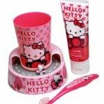 Hello Kitty – Zestaw do higieny jamy ustnej z timerem - kgr81026_1_x - miniaturka