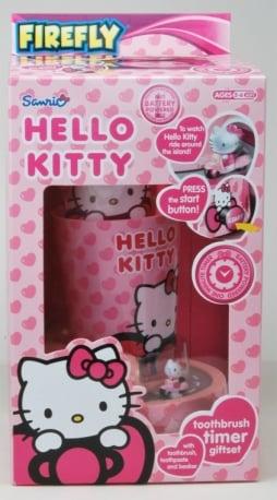 Hello Kitty – Zestaw do higieny jamy ustnej z timerem - kgr81026_2_x