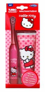Hello Kitty – Zestaw szczoteczka elektryczna + pasta 75 ml