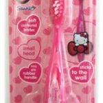 Hello Kitty – Szczoteczka z uchwytem i przyssawką 3D - kgr81395_1_x - miniaturka