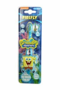 SpongeBob – Szczoteczka z uchwytem i przyssawką 3D
