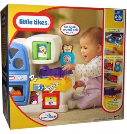Dla najmłodszych  LittleTikes  Muzyczne Odkrycia Kuchnia   -> Muzyczna Kuchnia Little Tikes