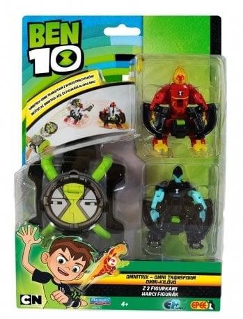 Ben 10 – Omnitrix – Omni Transform z 2 figurkami