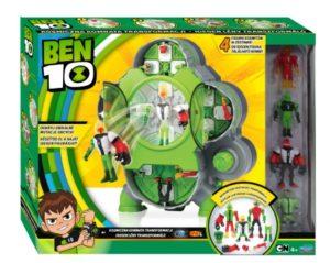 Ben 10 – Kosmiczna Komnata Transformacji z 4 figurkami