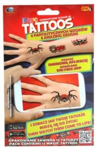 Magic Tattoos – Interaktywne Tatuaże 3D