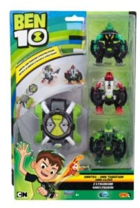 Ben 10 – Omnitrix OmniTransform z 3 figurkami
