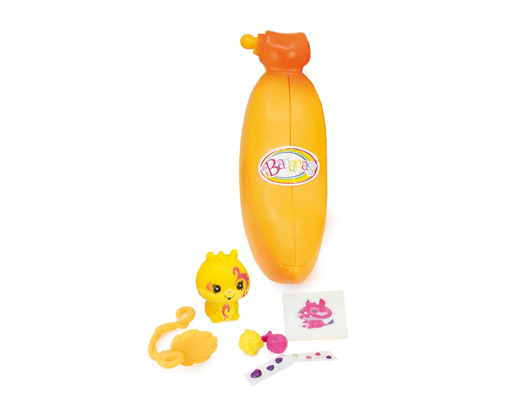 Bananas – Pachnące Niespodzianki – Figurka kolekcjonerska, 1-pack - bananas-pachnace-niespodzianki-ep03389-1