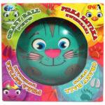 Piłka Zmyłka – Zwierzaczki, 6 ass. - ep03449-pilka-zmylka-zwierzaki-kotek-w-opak - miniaturka