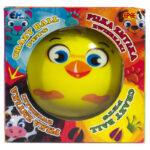 Piłka Zmyłka – Zwierzaczki, 6 ass. - ep03449-pilka-zmylka-zwierzaki-kurczak-w-opak - miniaturka