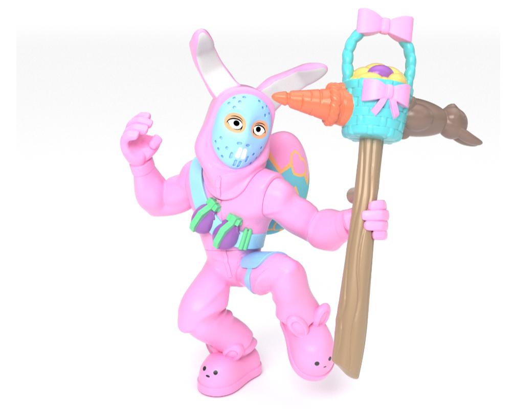 Fortnite – figurka z akcesorium - mfn63509-fortnite-figurka-rabbit-raider-bez-opak