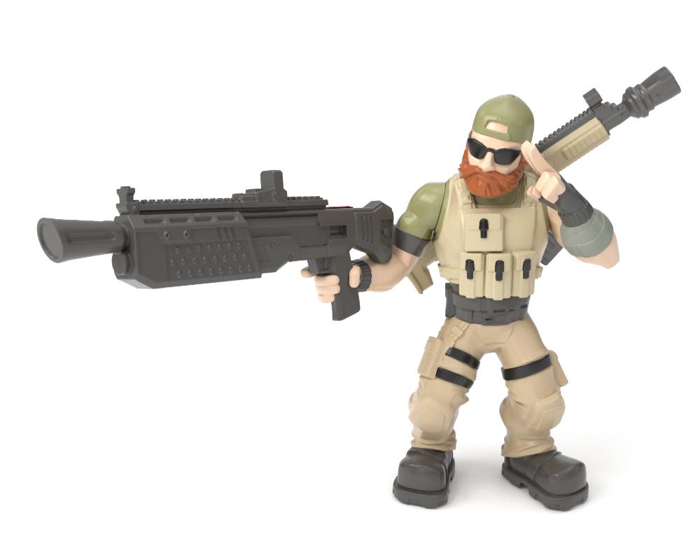 Fortnite – figurka z akcesorium - 63509-fortnite-w2-solo-fig-pack-8